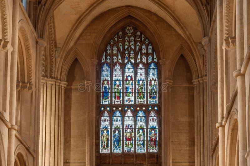 Cattedrale di Peterborough fotografie stock libere da diritti