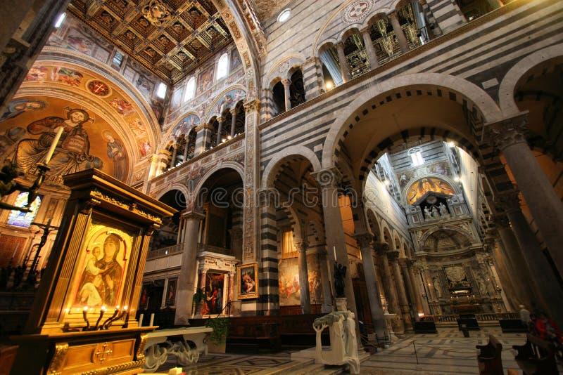 Cattedrale di Pisa fotografia stock libera da diritti