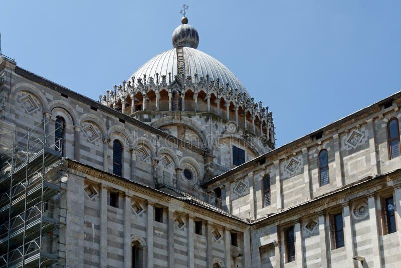 Cattedrale di Pisa, Italia fotografia stock