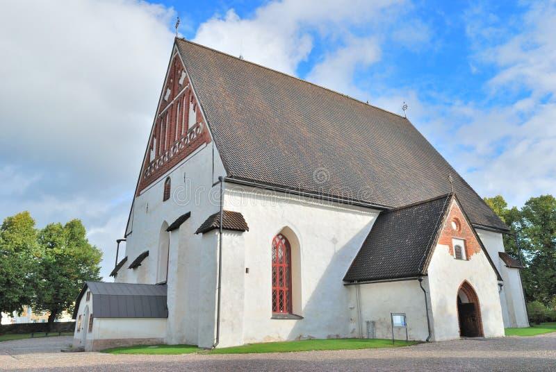 Cattedrale di Porvoo, Finlandia immagini stock