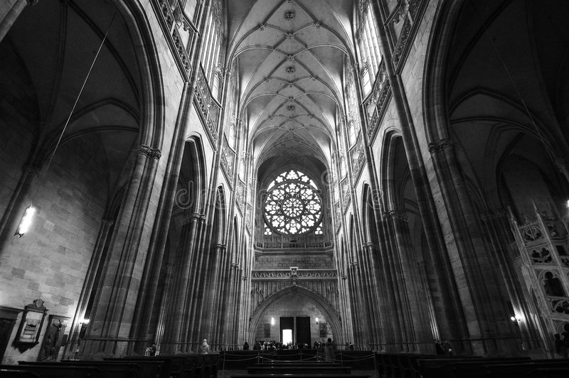 Cattedrale di Praga immagini stock
