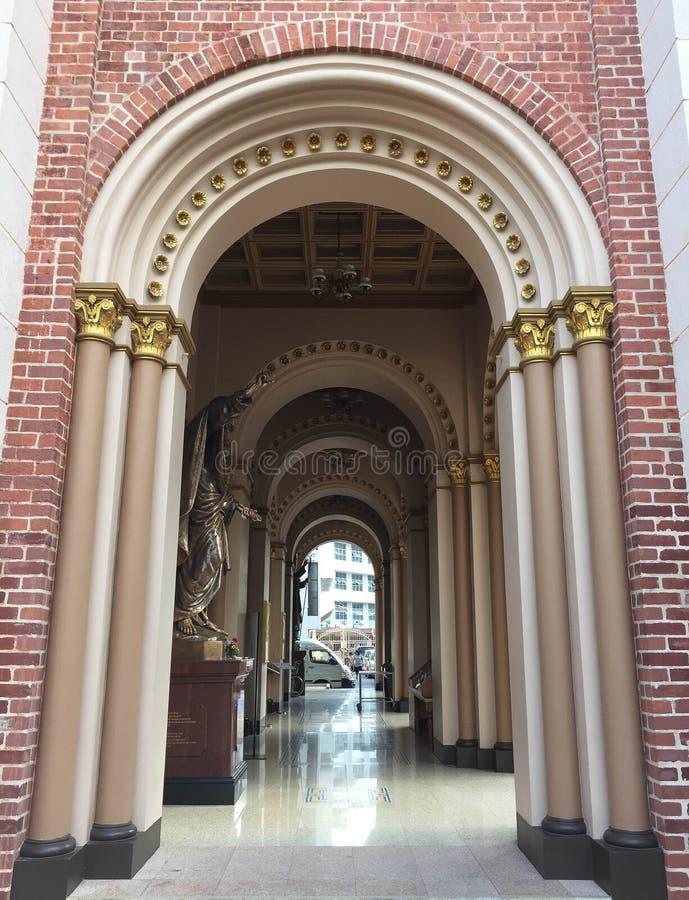Cattedrale di presupposto immagini stock