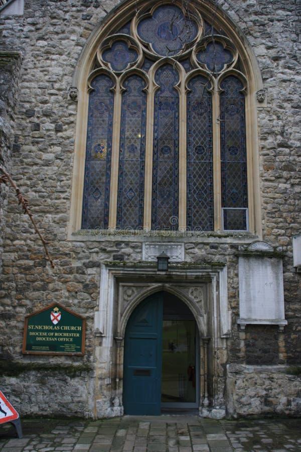 Cattedrale di Rochester in Inghilterra Regno Unito fotografia stock libera da diritti