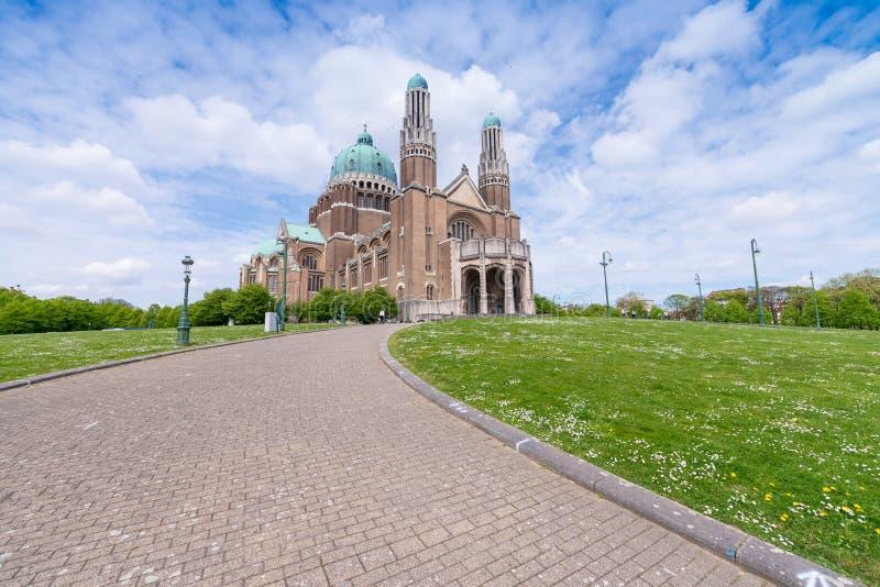 Cattedrale di Sacre Coeur a Bruxelles, Belgio immagine stock