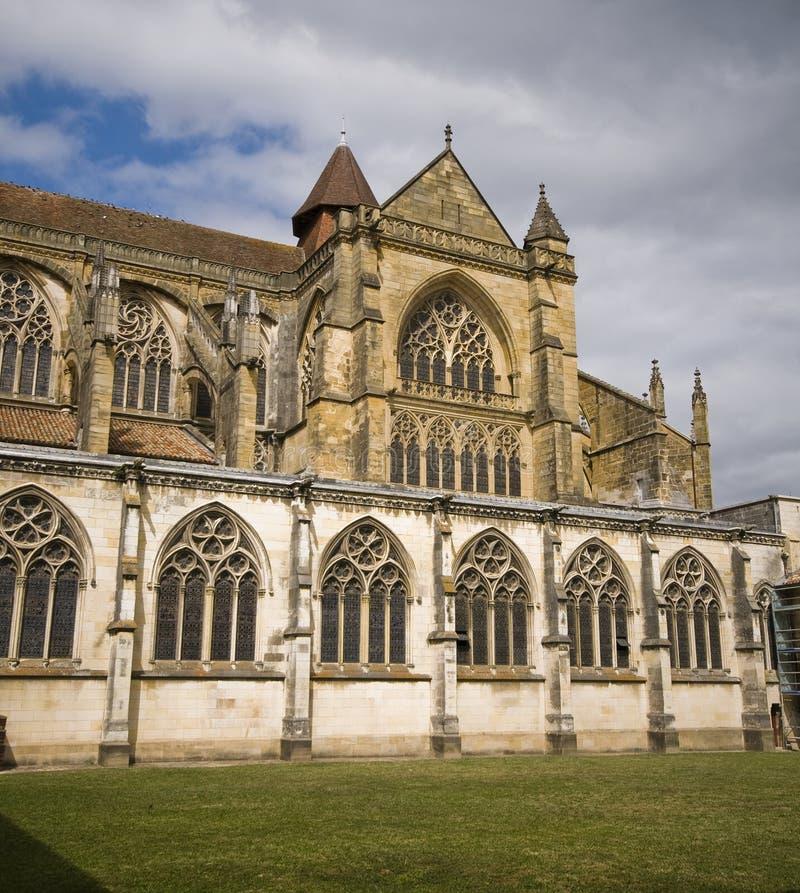Cattedrale di Sainte-Marie de Bayonne. La Francia immagini stock
