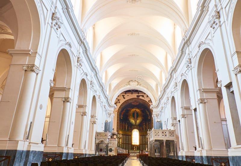Cattedrale di Salerno Cathedral Campanie, Italie photographie stock libre de droits