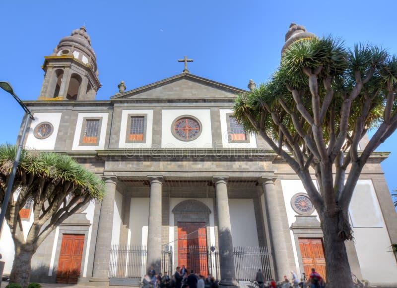 Cattedrale di San Cristobal de La Laguna, Tenerife, isole Canarie, Spagna fotografia stock libera da diritti