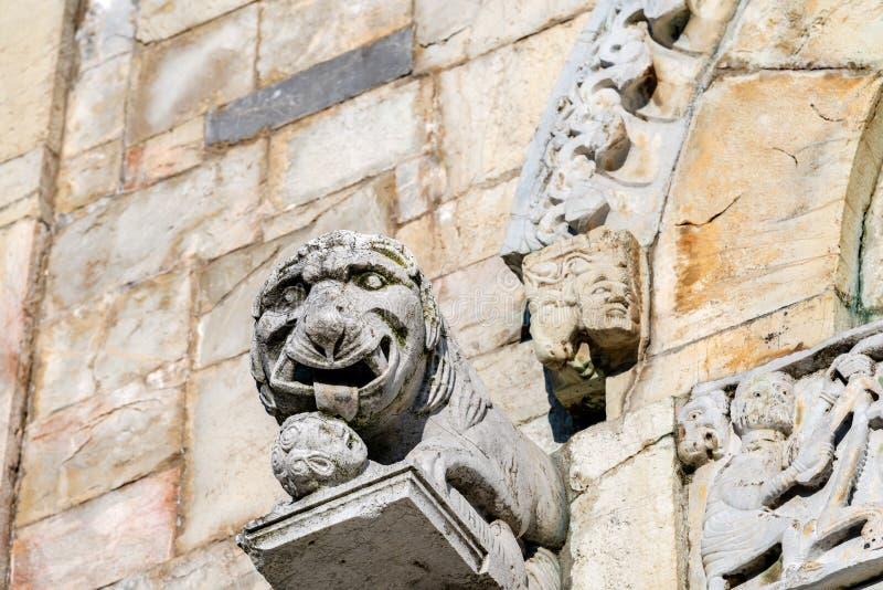 Cattedrale di San Cristoforo - Barga Tuscany Italy fotografia stock