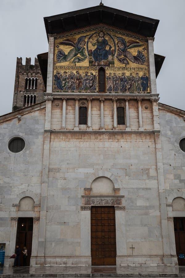 Cattedrale di San Frediano immagine stock