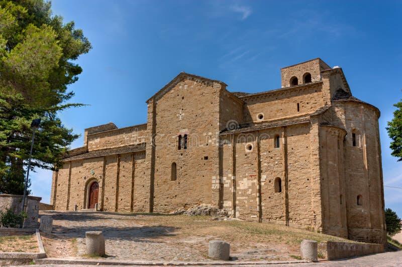 Cattedrale di San Leo fotografia stock libera da diritti