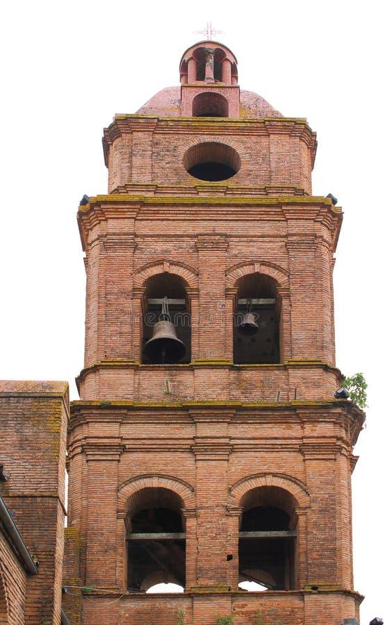 Cattedrale di San Lorenzo in Santa Cruz de la Sierra, Bolivia fotografia stock libera da diritti