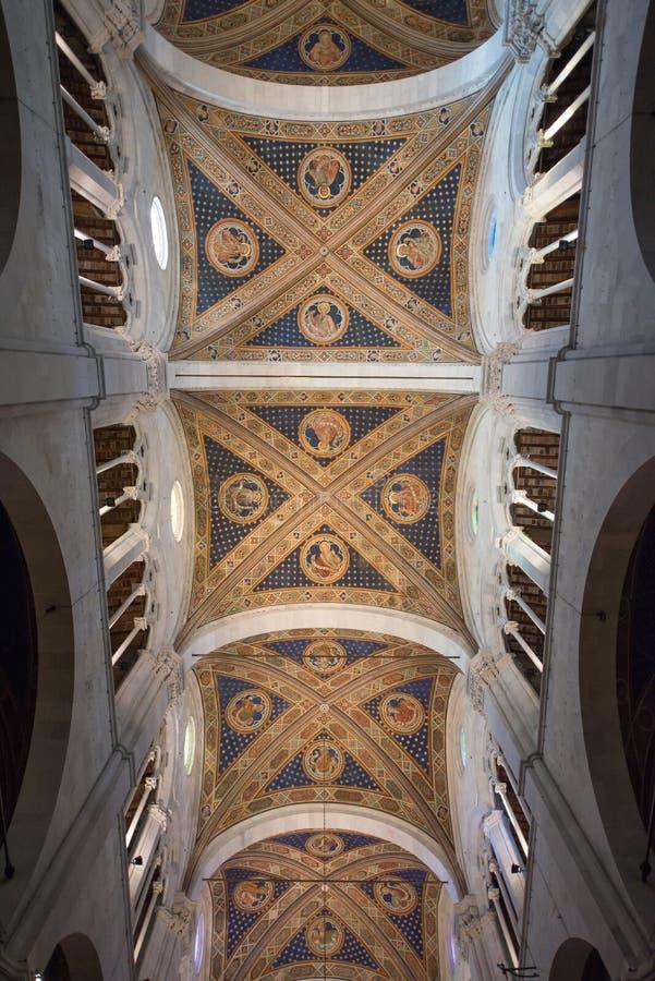 Cattedrale di San Martino in Lucca-Innenraum stockbild