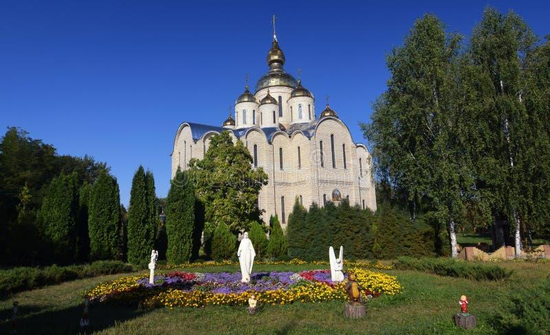 Cattedrale di San Michele e X27;s a Cherkasy City, Ucraina immagini stock libere da diritti