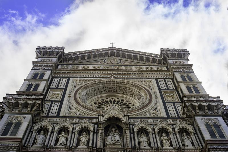 The Cattedrale di Santa Maria del Fiore royalty free stock images