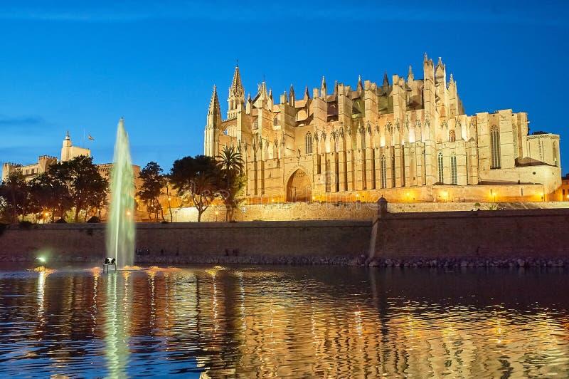 Cattedrale di Santa Maria di Palma fotografia stock libera da diritti