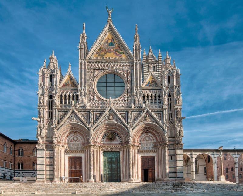 Cattedrale di Siena immagine stock