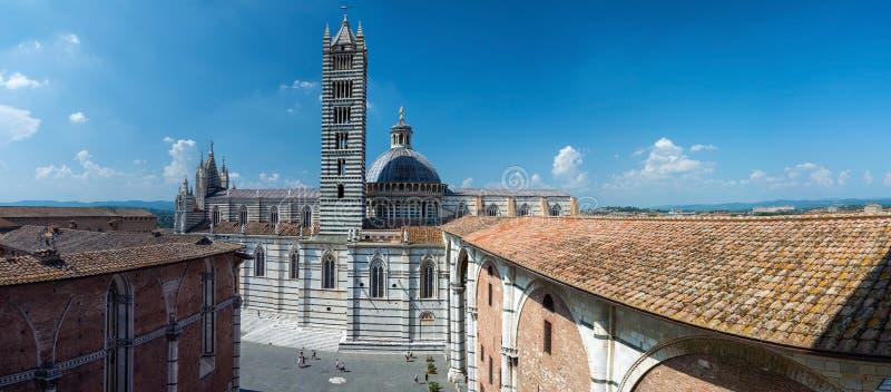 Cattedrale di Siena, Toscana, Italia fotografia stock