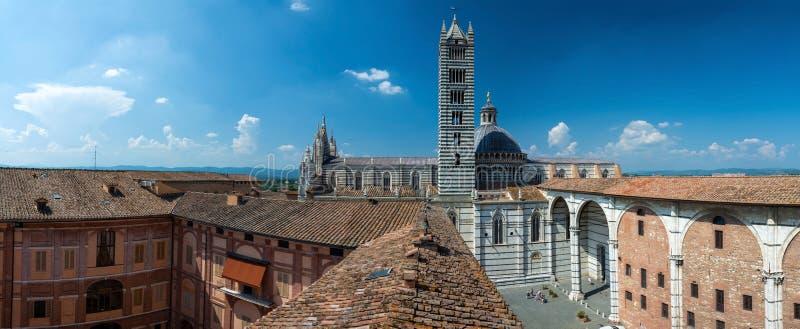 Cattedrale di Siena, Toscana, Italia immagine stock libera da diritti