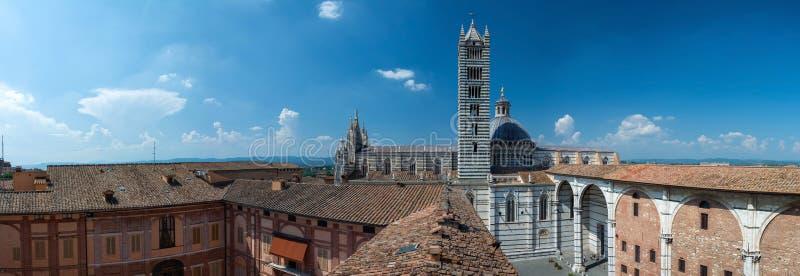 Cattedrale di Siena, Toscana, Italia fotografie stock libere da diritti