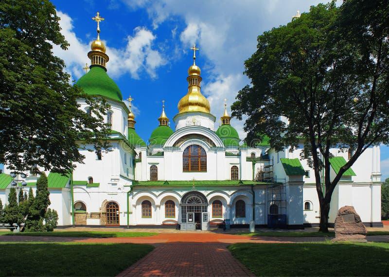 Cattedrale di Sophia del san a Kiev immagine stock