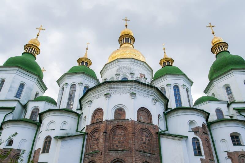 Cattedrale di Sophia del san a Kiev, Ucraina fotografia stock