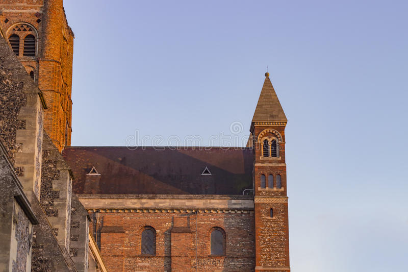 Cattedrale di St Albans fotografia stock libera da diritti