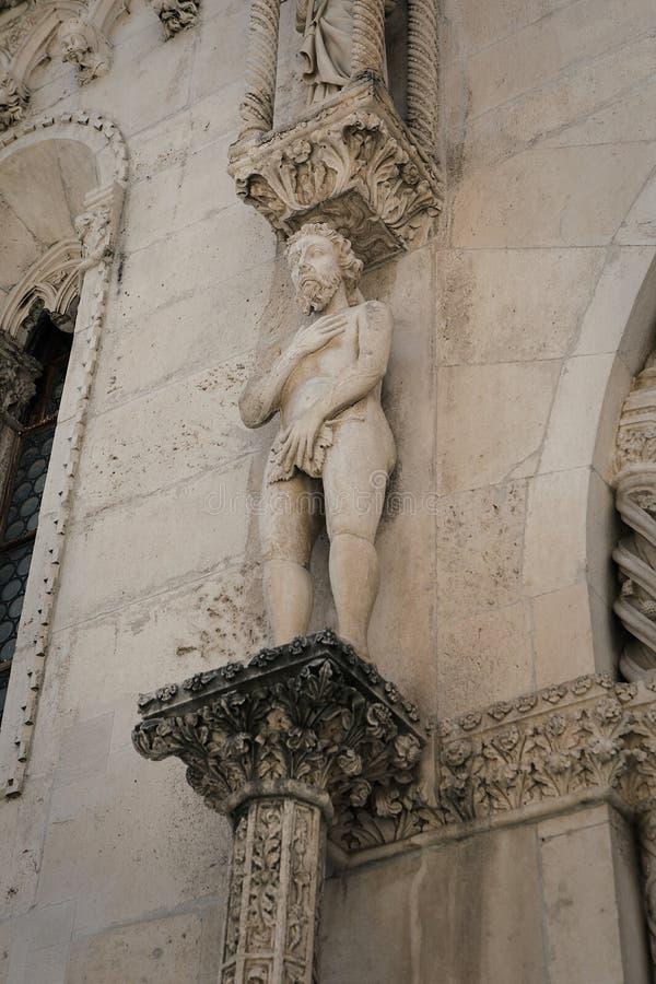 Cattedrale di St James in Sibenik fotografia stock