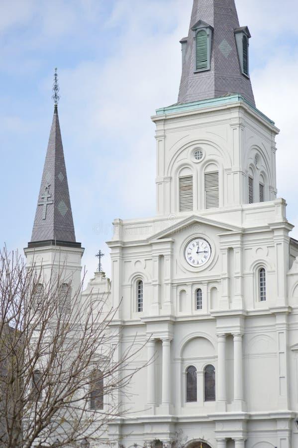 Cattedrale di St Louis fotografia stock
