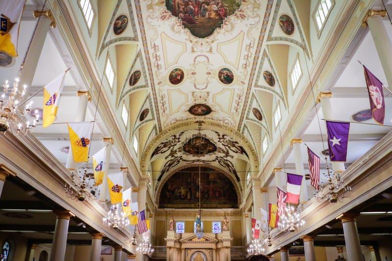 Cattedrale di St Louis a New Orleans fotografia stock