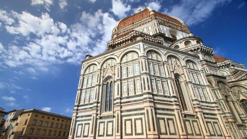 Cattedrale di St Mary dei fiori, un destin turistico popolare fotografia stock