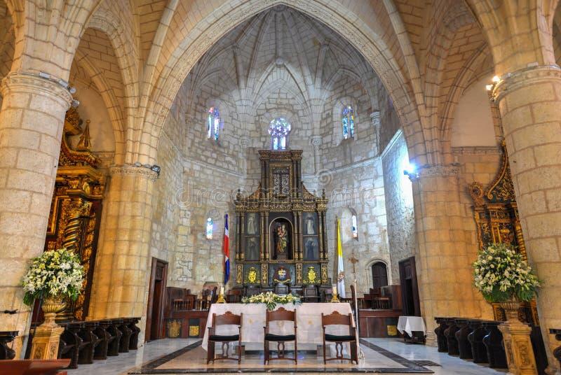 Cattedrale di St Mary dell'incarnazione, Santo Domingo, Dominic immagine stock