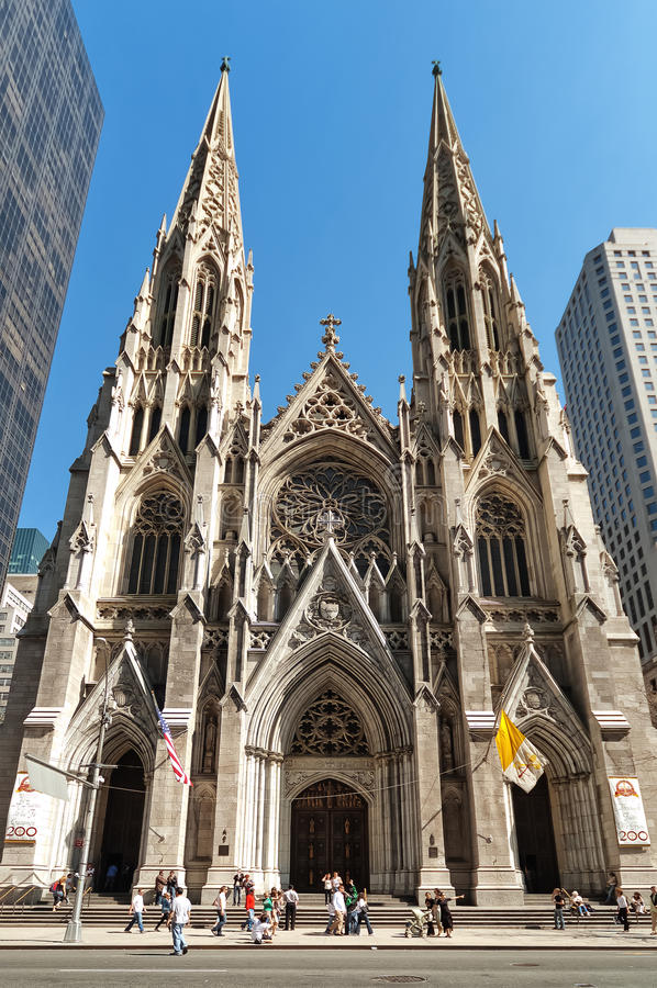 Cattedrale di St Patrick s fotografie stock