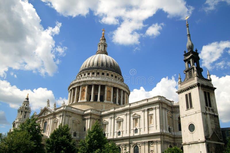 Cattedrale di St.Paulâs immagini stock