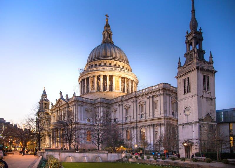 Cattedrale di St Paul, Londra fotografia stock libera da diritti