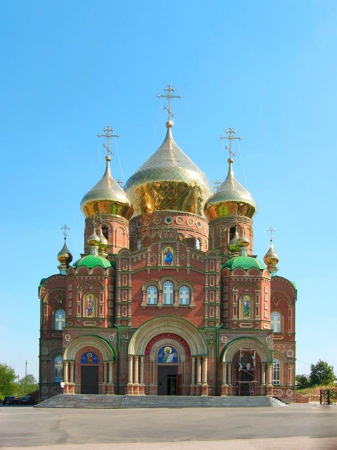Cattedrale di St.Vladimir (sobor di Vladimirsky) immagini stock libere da diritti