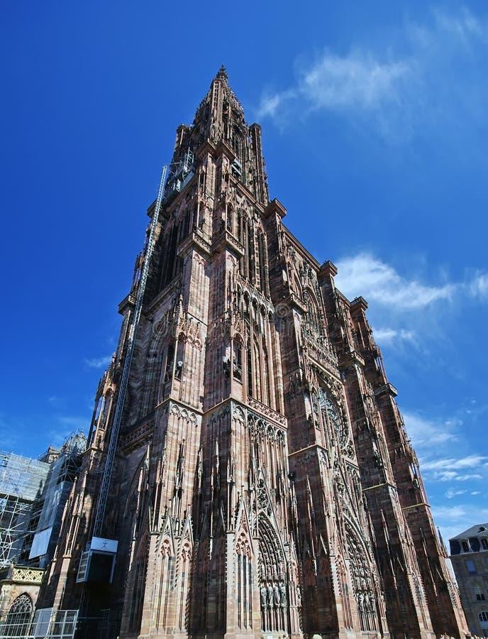 Cattedrale di Strasburgo immagini stock