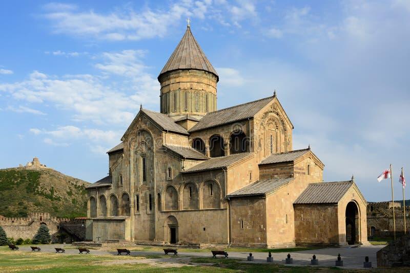 Cattedrale di Svetitskhoveli, Mtskheta Georgia fotografia stock