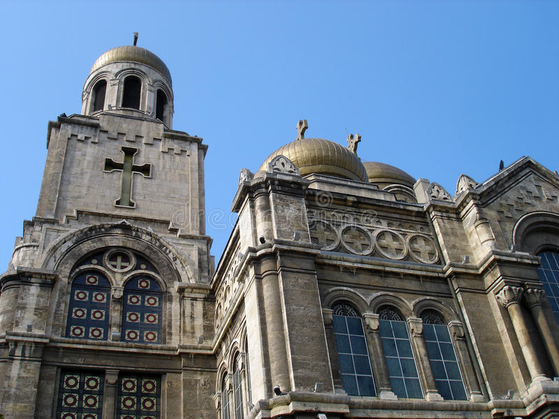Cattedrale di Theotokos, Varna fotografie stock