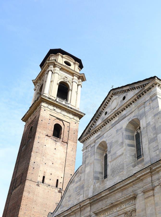Cattedrale di Torino di St John il battista, Italia fotografie stock