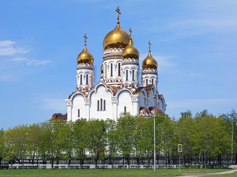 Cattedrale di trasfigurazione in Togliatti fotografie stock libere da diritti