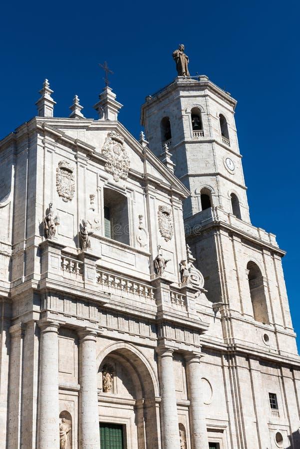 Cattedrale di Valladolid, Spagna immagini stock libere da diritti