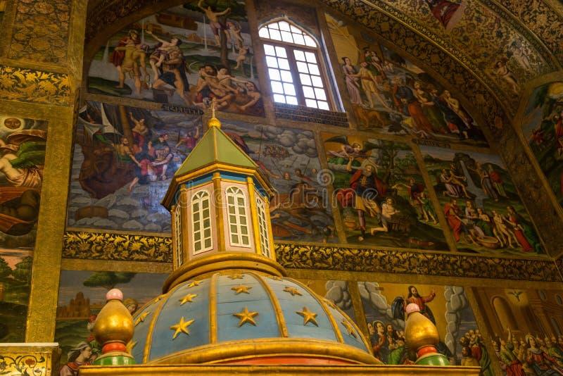 Cattedrale di Vank, Ispahan, Iran fotografia stock libera da diritti
