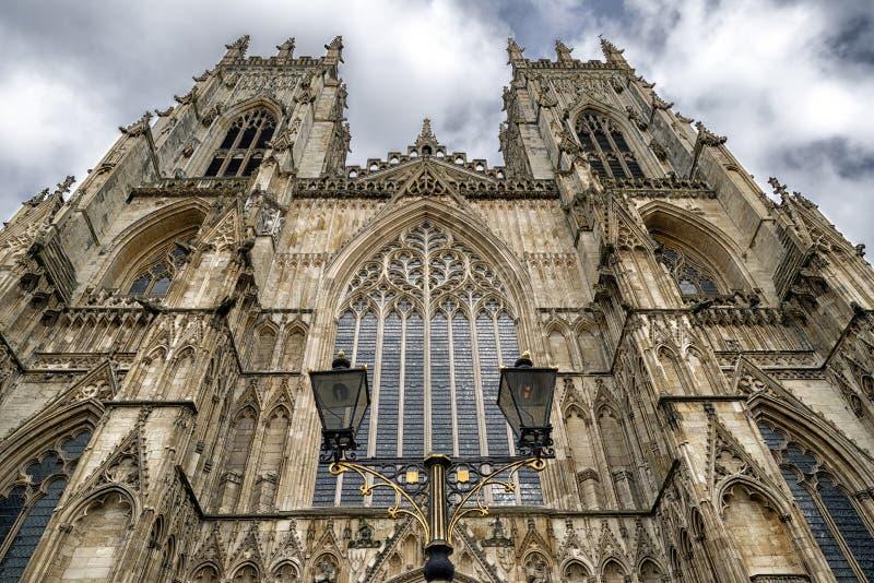 Cattedrale di York della cattedrale, Inghilterra fotografia stock