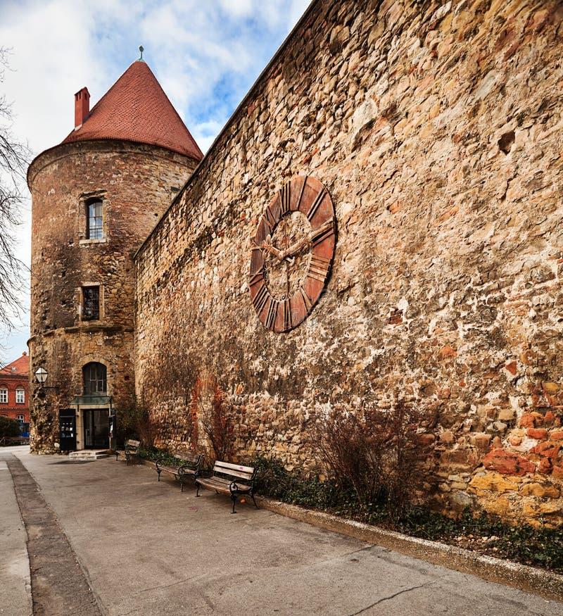 Cattedrale di Zagabria immagine stock