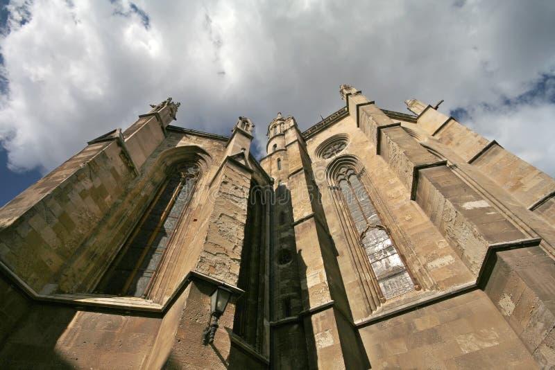 Cattedrale di Zagabria fotografia stock