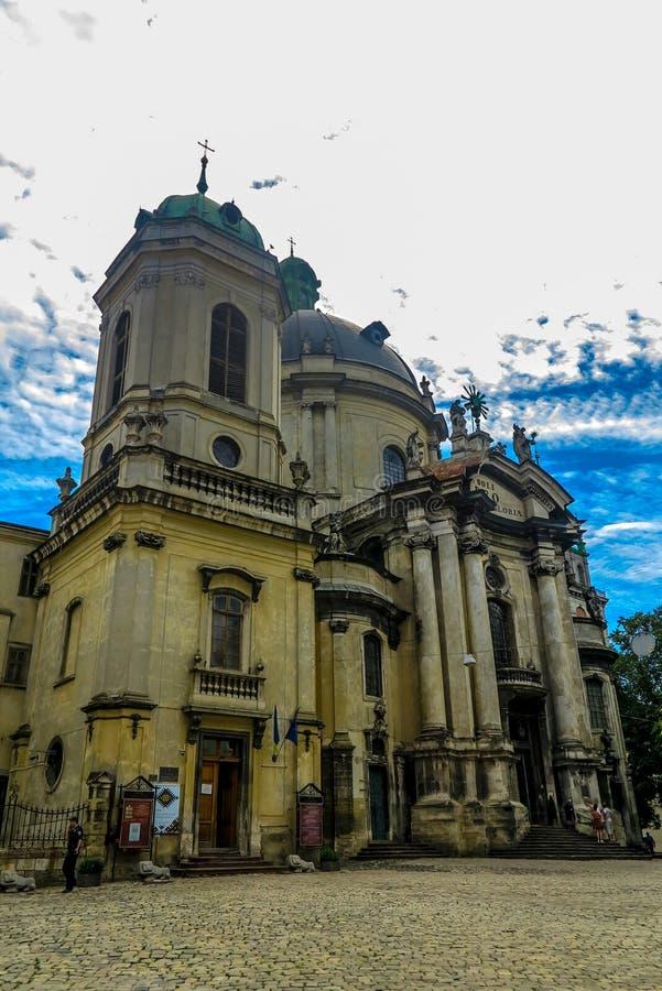 Cattedrale domenicana 01 di Leopoli immagini stock libere da diritti