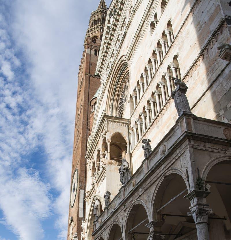 Cattedrale e Torrazzo, Cremona fotografie stock libere da diritti
