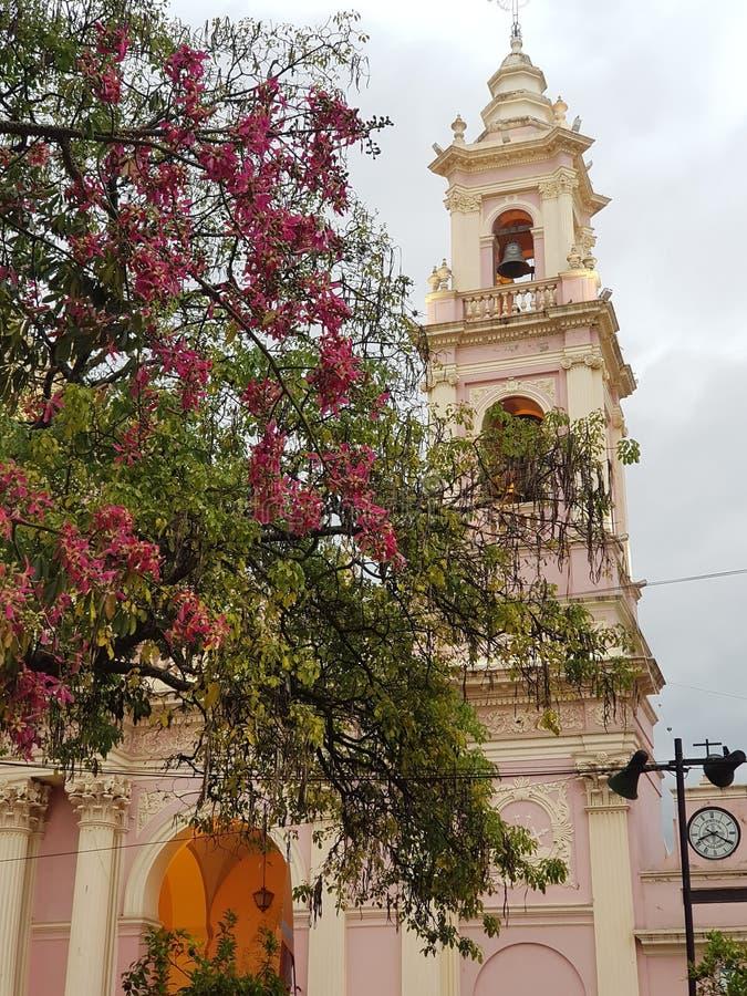 Cattedrale fiorita fotografia stock
