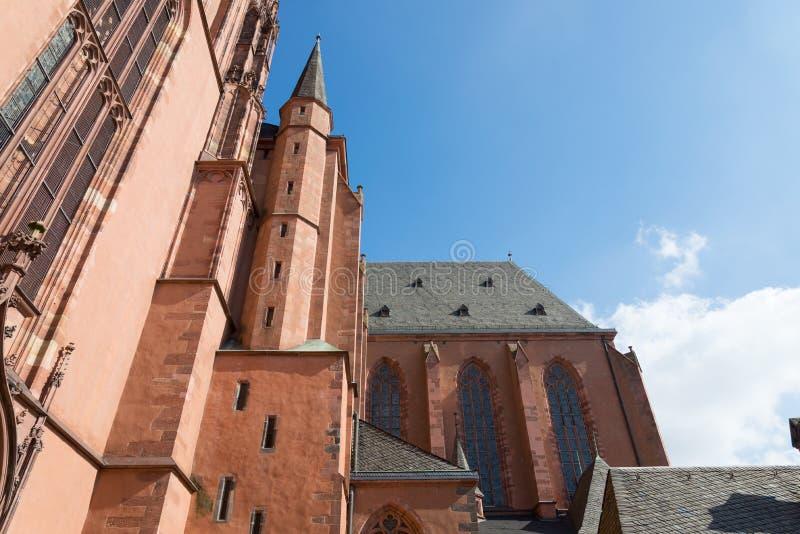 Cattedrale a Francoforte, Germania fotografia stock libera da diritti