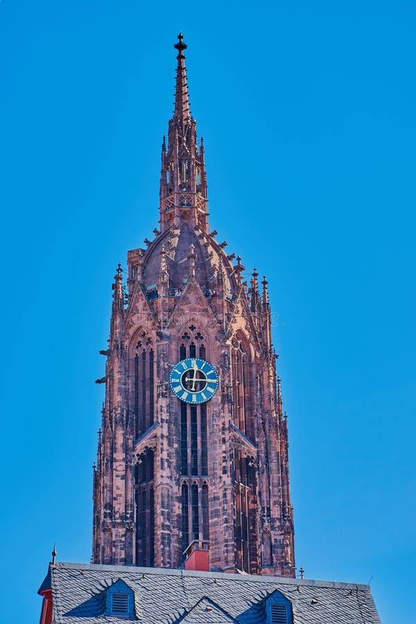 Cattedrale Francoforte, Germania immagine stock libera da diritti